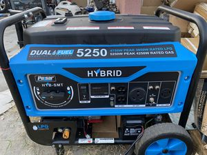 PULSAR DUAL FUEL 5250 W for Sale in Fontana, CA