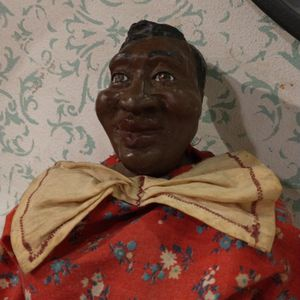 Vintage Wooden Cloth Hand-painted African American Doll for Sale in Philadelphia, PA