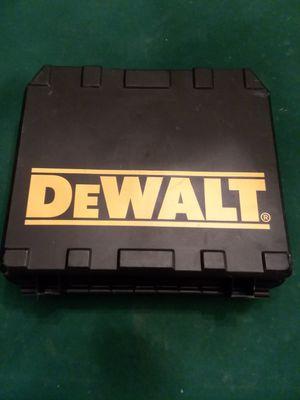 "DEWALT CLUTCH 3/8"" 12V ADJUSTABLE CORDLESS DRILL/DRIVER WITH CASE for Sale in Detroit, MI"