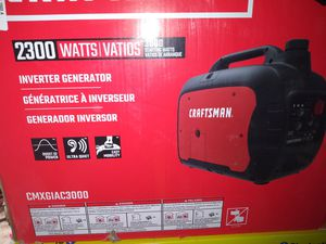 CRAFTSMAN INVERTER GENERATOR 2300 WATTS\3000 STARTING for Sale in Town and Country, MO
