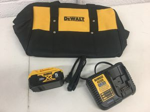 Dewalt 20 Volt MAX XR 5 Ah Battery Charger Tool Bag for Sale in Gilbert, AZ
