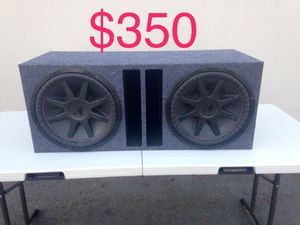 Kicker Comp VR 15inch subs, car audio, subwoofers for Sale in Hayward, CA