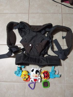 Cangurera jugete para car seat y andadera for Sale in Donna, TX
