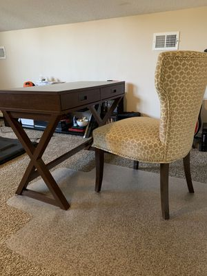 DESK & CHAIR - $200 for Sale in Virginia Beach, VA