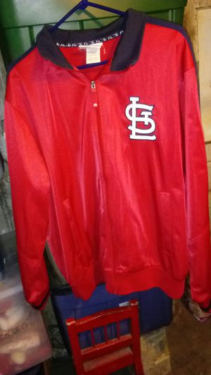 St. Louis Cardinals official MLB medium weight jacket size large like new condition for Sale in St. Louis, MO