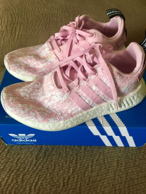 Adidas nmd pink women size 7 1/2 for Sale in West Springfield, VA