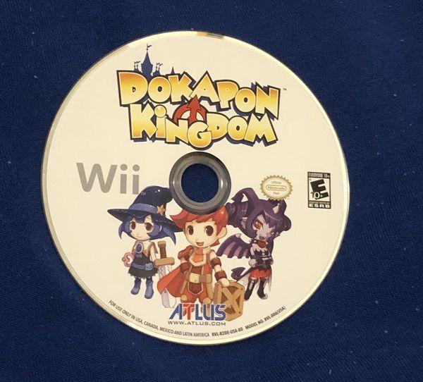 Dokapon Kingdom Nintendo Wii Rare Disc only