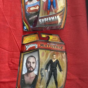 DC Superman Movie Action Figures Combo for Sale in San Diego, CA