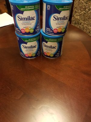Similac advance.. $10 for each can. 8cans available for Sale in Lewisville, TX
