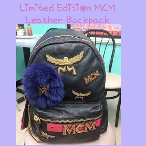 MCM Lambskin Backpack for Sale in Alexandria, VA