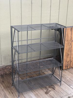 Folding Cast Iron Shelf- well built for Sale in Anchorage, AK