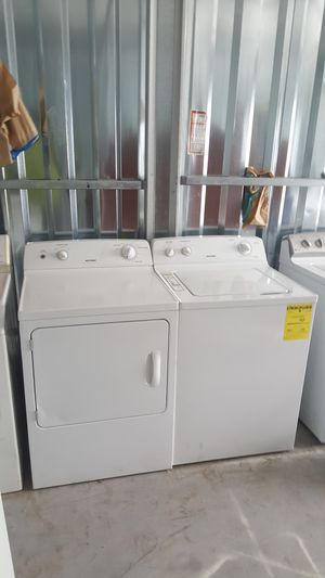 Hotpoint washer & dryer(credit card accepted for Sale in Richlands, NC