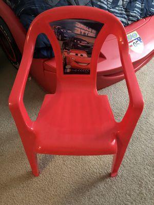 Disney Pixar Cars Lightening McQueen Kids Chair for Sale in Dublin, OH