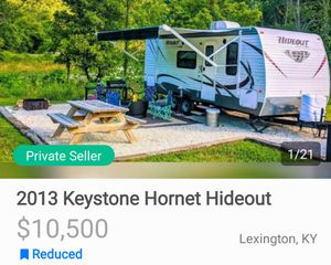 2013 keystone hornet hideout travel trailer for Sale in Lexington, KY