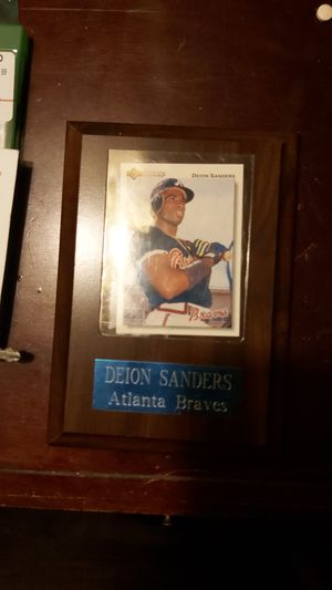 Deion Sanders 1992 UpperDeck for Sale in Fresno, CA