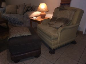 Comfy chair & ottoman for Sale in Greenwood Village, CO