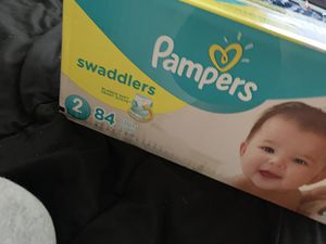 Pampers size 2 for Sale in Columbus, OH