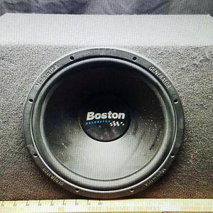 BOSTON Acoustic Generator GS12 Subwoofer for Sale in Escondido, CA