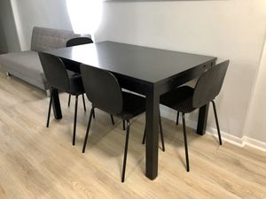 Table and Four Chairs for Sale in Pelham, NY