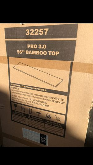 BRAND NEW TOOL BOX TOP for Sale in Ontario, CA