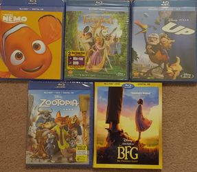 Disney Blu Ray Collection for Sale in Shoreline,  WA