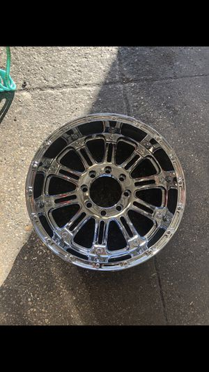 (4) XD KMC 8 Lug chrome Wheels/Rims (Tire's not included/separate listing) for Sale in Henderson, NV