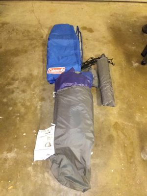 Coleman 2 person tent Excellent condition only used once for Sale in Port Neches, TX