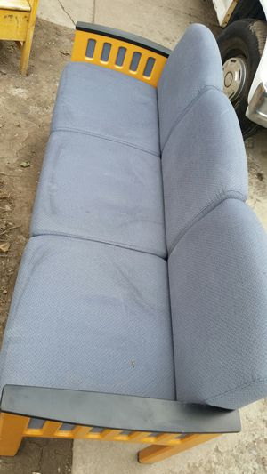 Nice Blue 3 Seat Chair/Bench for Sale in Salt Lake City, UT