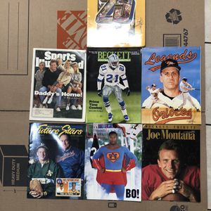 Old Sports Magazines for Sale in Piedmont, CA