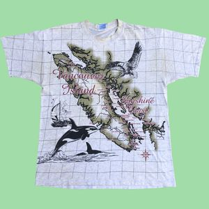 Vancouver island map tee for Sale in Miramar, FL