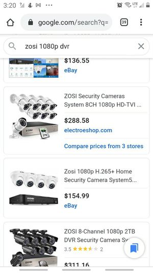 Zosi security camera for Sale in Mesa, AZ