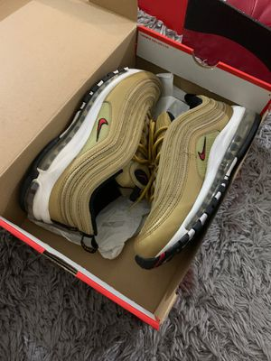 Nike air max's 97 gold size 9 for Sale in Fresno, CA