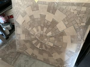 Two Travertine Medallions for Sale in San Diego, CA