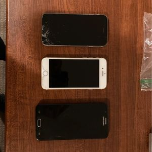 White iPhone 6 64gb, Black iPhone 6 64gb, Black Samsung J7 Prime for Sale in Bingham Canyon, UT