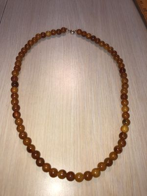 """Vintage Baltic Amber 24-1/2"""" 8+ MM Bead Necklace From an Estate as Pictured for Sale in Berlin, NJ"""