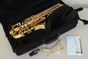 Open box Yamaha YAS 480 alto saxophone for Sale in McKinney, TX