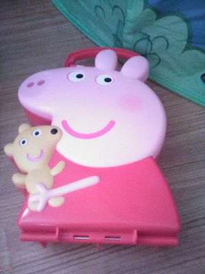 Pepper pig carrying case for Sale in Boston, MA