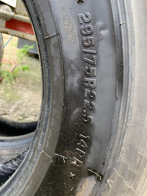 Firestone Tires for Trailer (22.5) for Sale in Homestead, FL