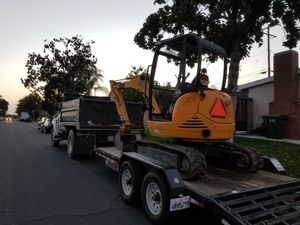 excavator and dump truck for Sale in West Covina, CA