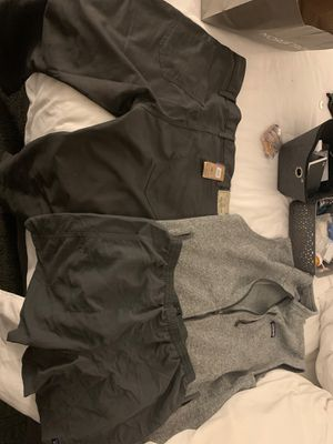 Patagonia shorts - SIze L, Patagonia vest size XL, Patagonia performance Jeans size 35x32 for Sale in Laguna Woods, CA