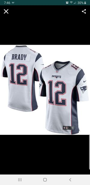 NEW PATRIOTS TOM BRADY JERSEY SIZE xl 100% STITCHED for Sale in Grand Terrace, CA