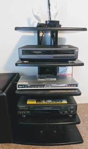 Space saver 5 shelf small tv/DVD/ vcr stand. for Sale in Wheaton, IL