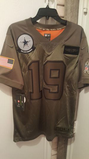Dallas Cowboys NIKE SALUTE TO SERVICE MILITARY COOPER JERSEYS SIZES MEDIUM AND LARGE ONLY for Sale in Grand Prairie, TX