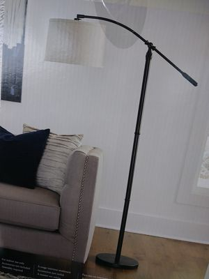 Brand new floor lamp with bulb,shade & foot-switch for Sale in Fort Myers, FL