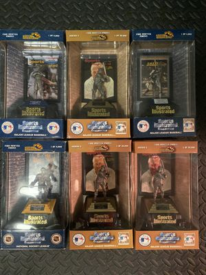 Sports Illustrated Collection of Pewter Statues NIB for Sale in Painesville, OH
