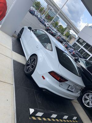 2016 Audi A7 Premium Plus 45K Mikes (5K mile warranty left) for Sale in Herndon, VA