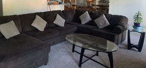 Dark brown couches for Sale in San Angelo, TX