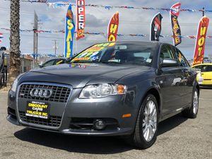 2008 Audi A4 2.O Lt Fully Loaded Low Miles 67K for Sale in Modesto, CA
