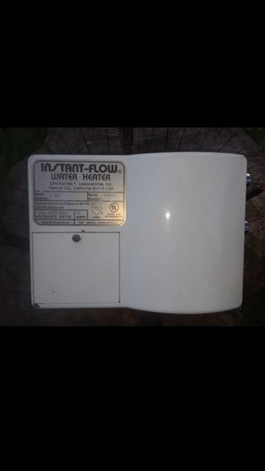 Tankless Instant Hot Water Heater for Sale in Castro Valley, CA