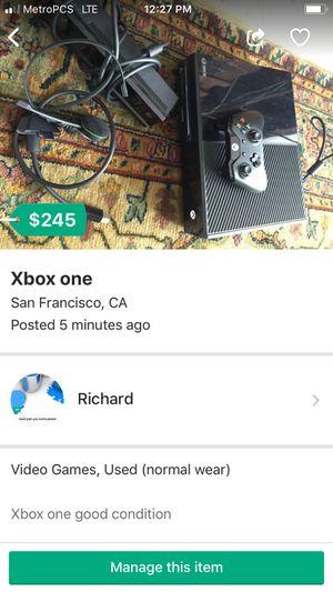 Xboxone good condición $200 for Sale in San Francisco, CA